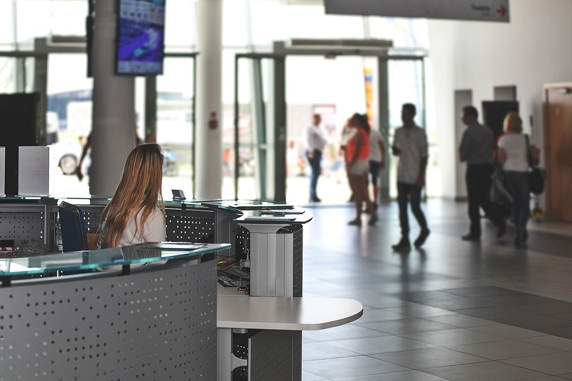 CG servicio conserje reception