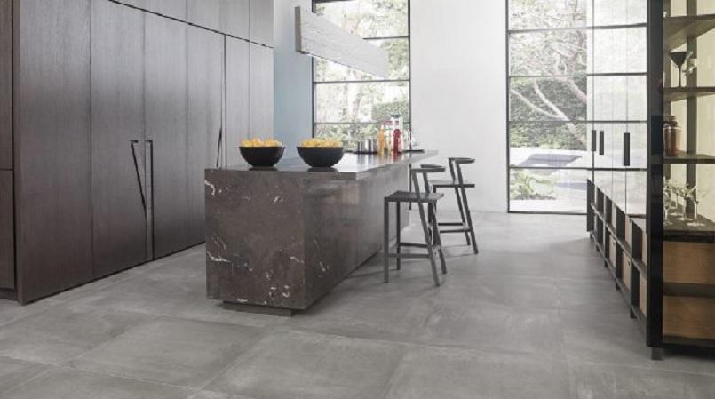 Porcelanosa cocinas cemento